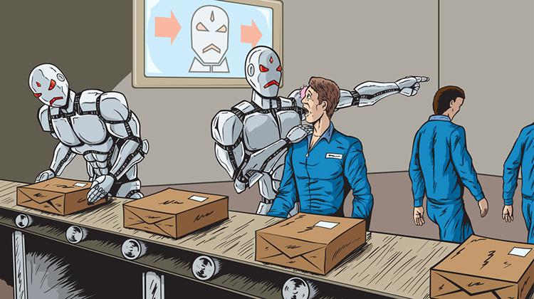 роботы заменять людей
