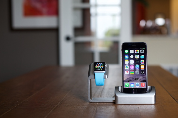 Iphone вместе с Apple watch