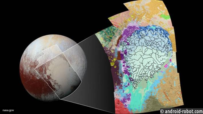 НаПлутоне обнаружили «щупальца» Ктулху