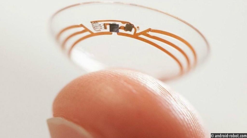 Самсунг начинает разработку умных контактных линз