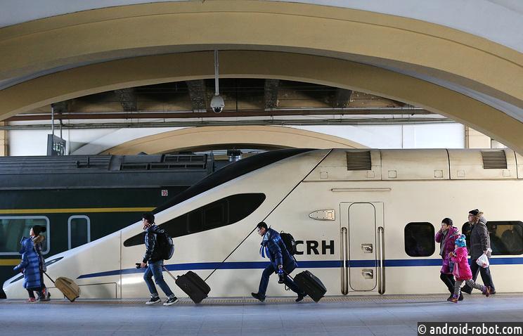 обновленный тип высокоскоростных поездов