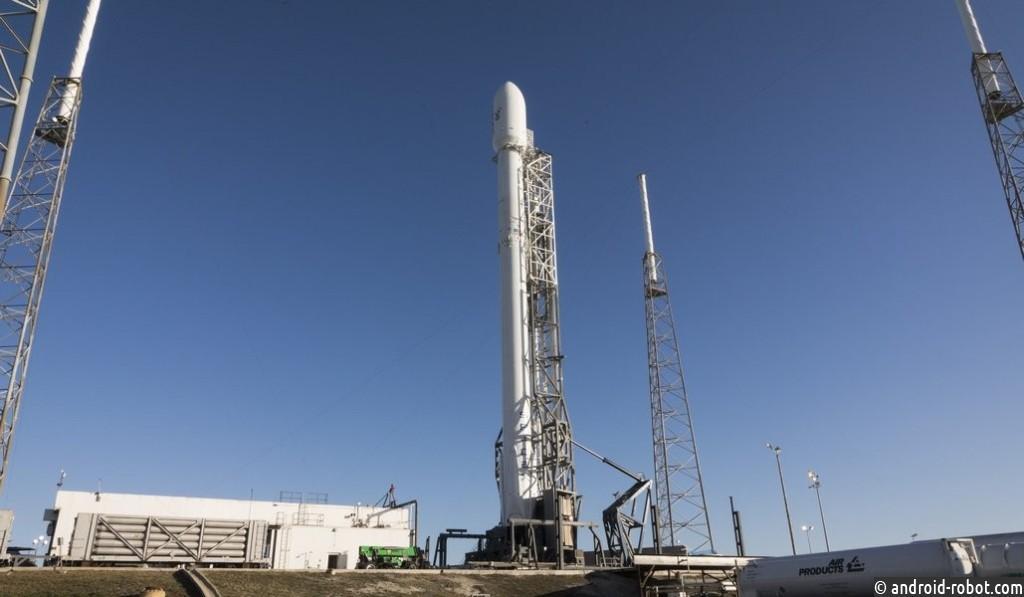 ВСША вновь запустили ракету Falcon 9 скосмическим кораблем Dragon