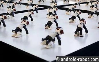 1007 роботов исполнили синхронный танец