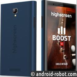 Highscreen представил два новых музыкальных смартфона