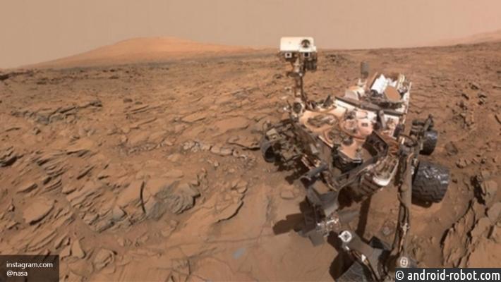 Марсоход Curiosity может загрязнить воды «красной планеты»