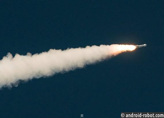 Старт миссии OSIRIS кастероиду