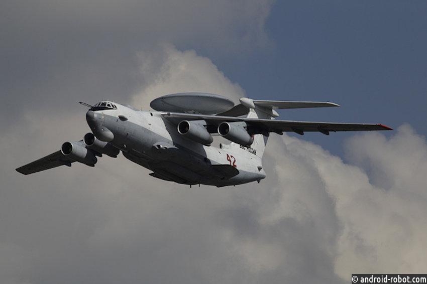 Русский самолет-лаборатория А-100 ссистемой AWACS cовершил 1-ый полет