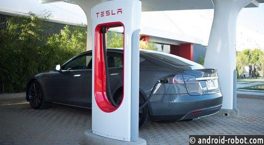 Заправки Tesla станут платными