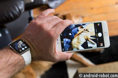 Компания Glide разработает ремешок для Apple Watch скамерами
