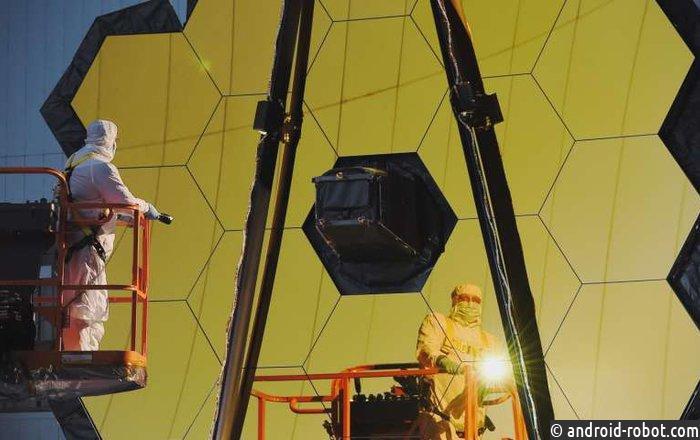 NASA завершило сборку космического телескопа имени Джеймса Уэбба