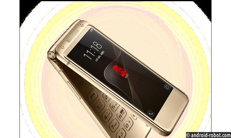 Топовую раскладушку Samsung SM-W2017 покрасили вновый цвет