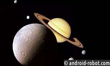 NASA показало рождение исмерть облаков спутника Сатурна