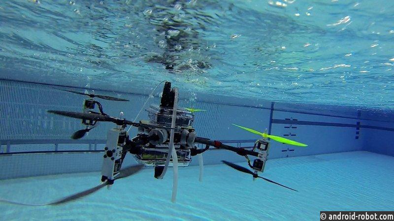 ВПетербурге разработали систему навигации исвязи для подводных роботов