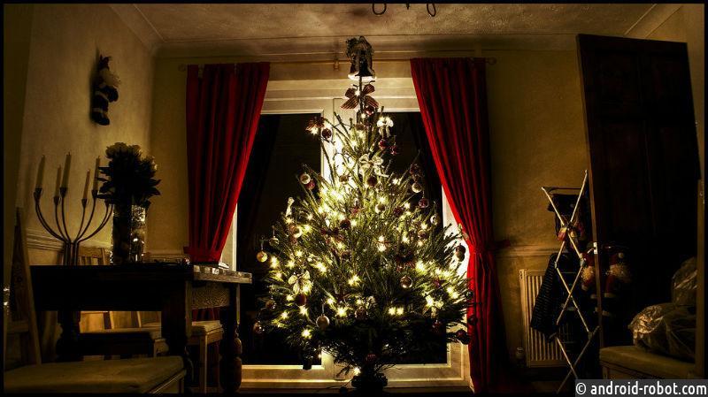 ВМинске возникла первая вмире «умная» елка