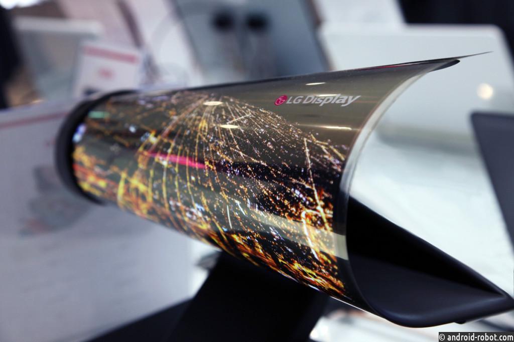LGDisplay хочет подвинуть Samsung Display нарынке панелей OLED
