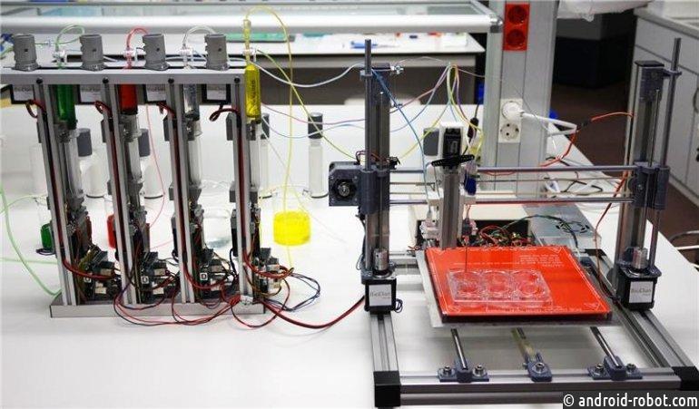3D-принтер обучили печатать кожу