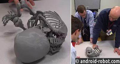 Создали 3D-модель мумии ребенка
