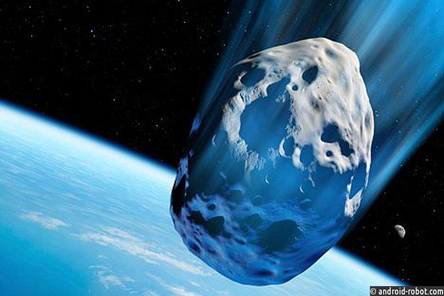 Сегодня мимо Земли пронесется крупный астероид