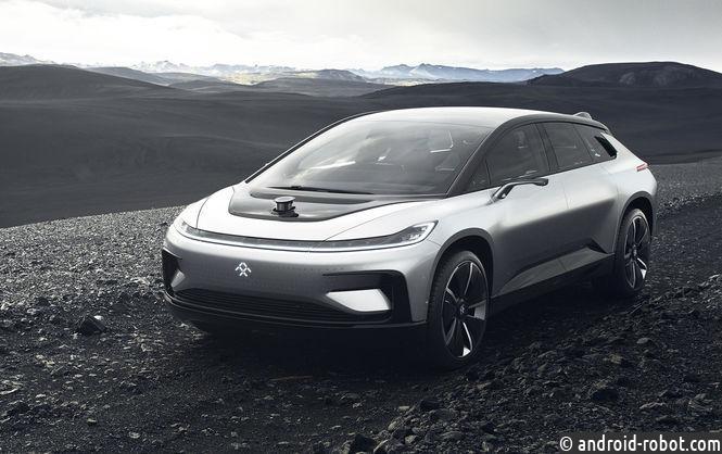 электромобиль компании Faraday Future