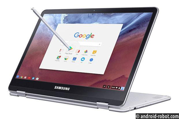 Samsung привезла на CES 2017 хромбуки Chromebook Plus и Pro
