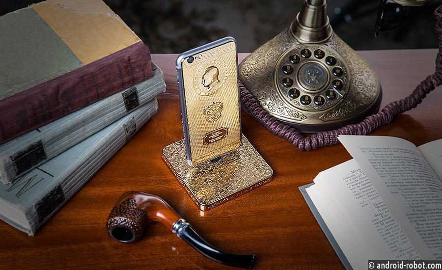 Теперь iPhone 7 можно заряжать от золотого слитка