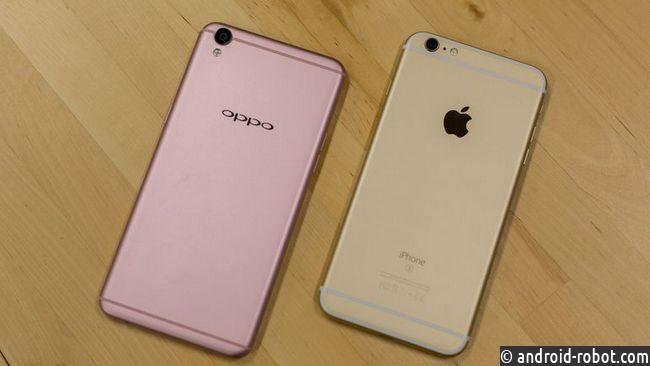 Впервый раз за 5 лет iPhone утратил звание самого продаваемого телефона вКитайской республике