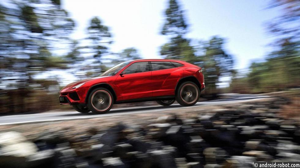 Весной запустят производство кроссовера Lamborghini Urus