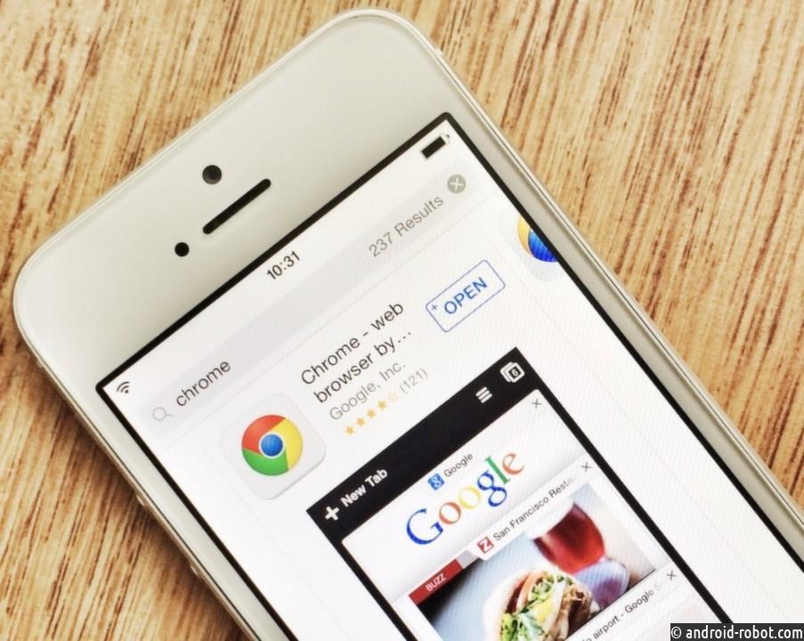 Google обнародовала исходный код Chrome для iOS