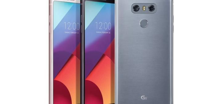 LG представила новейший смартфон G6