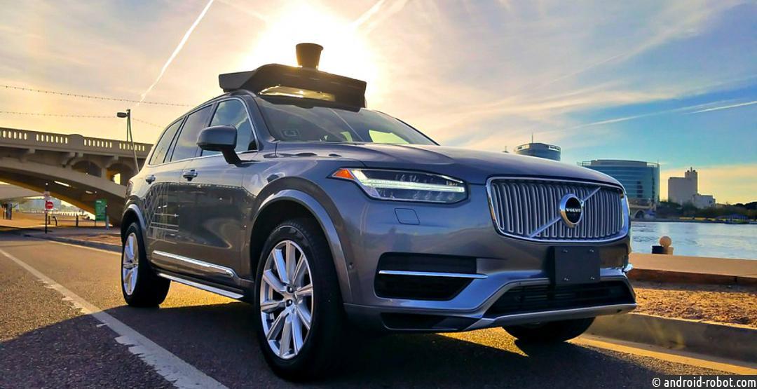 Вштате Аризона тестируют беспилотные автомобили Uber
