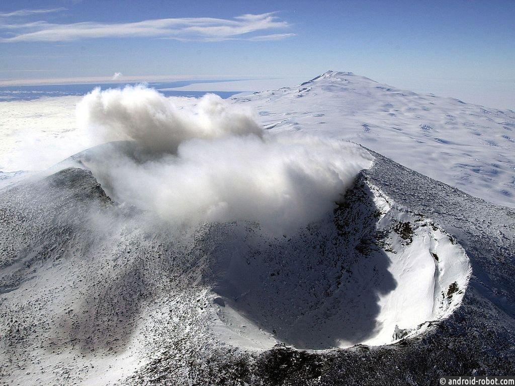 NASA предполагает, что антарктический вулкан Эребус может быть порталом вдругой мир