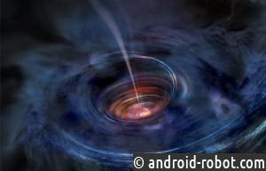 Найдена звезда, которая вращается вокруг черной дыры и вполне может стать алмазной планетой