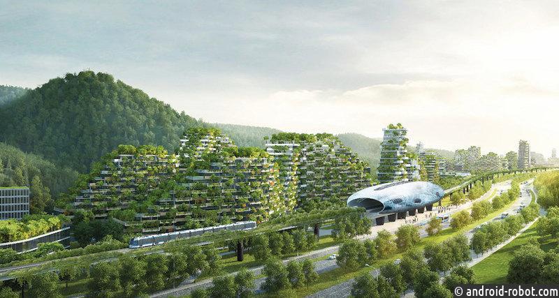 Первый вмире лесной город построят в КНР к 2020