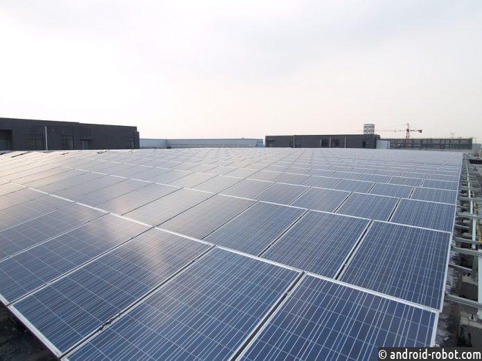 В КНР запустили крупнейшую вмире плавучую солнечную электростанцию