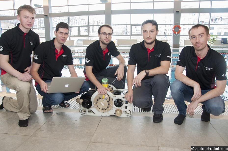 Робототехники ДВФУ и ДВО РАН заняли 2 место в чемпионате RoboSub-2017 в Сан-Диего