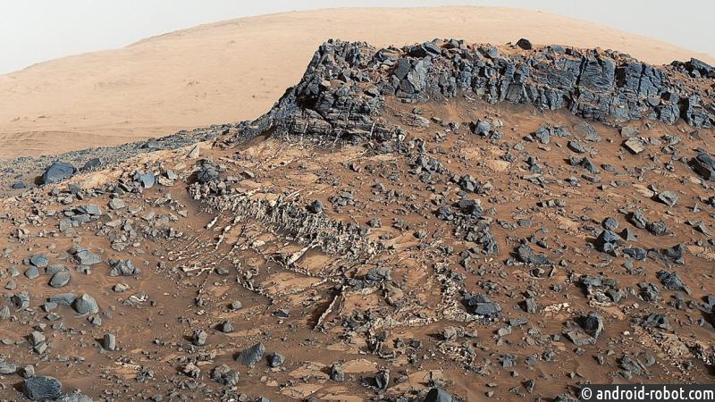 Ученые обнаружили наМарсе руины старинного города