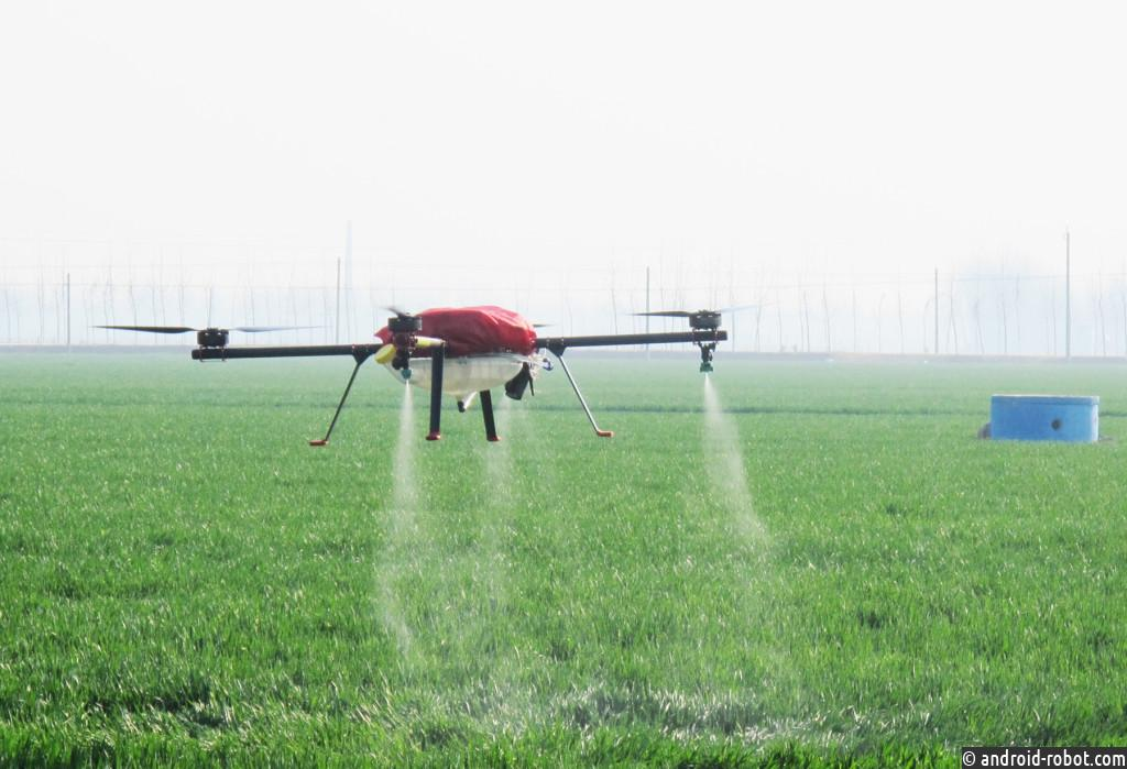 В России разработан инновационный комплекс для проведения авиахимработ с помощью беспилотников