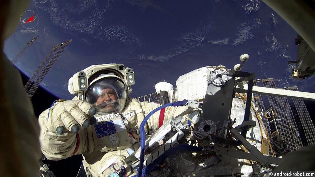 Работу космонавтов воткрытом космосе сняли навидео
