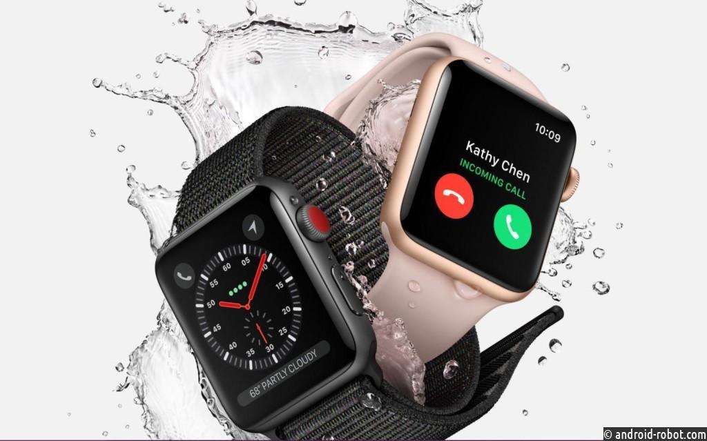Компания Apple презентовала новые часы смобильной связью иинтернетом