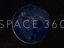 Размещено первое панорамное видео изоткрытого космоса