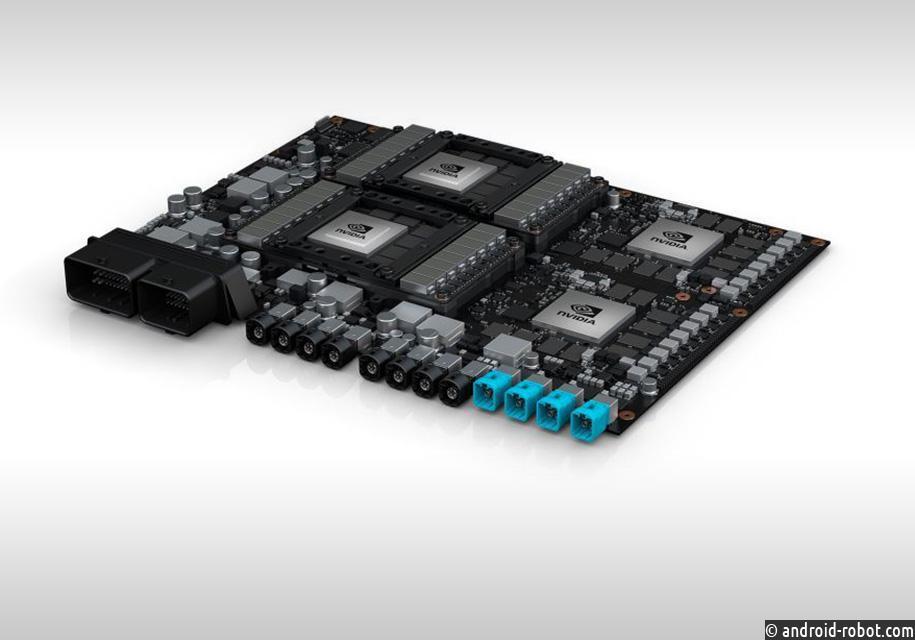 Nvidia разработала компьютер для беспилотных такси