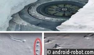 Уфологи обнаружили вАнтарктиде 12-этажный корабль инопланетян
