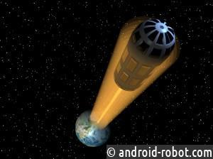 К 2050г Японские ученые собираются построить лифт для полета наМарс