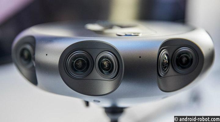 Самсунг представила камеру для 360-градусных трансляций