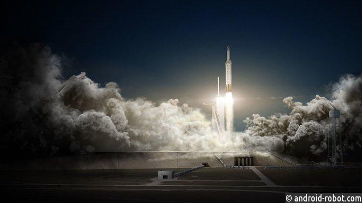 Ракета Falcon-9 стартовала воФлориде скоммерческим спутником