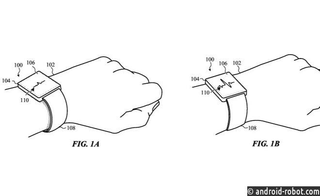 ВApple придумали самозатягивающиеся ремешки для смарт-часов