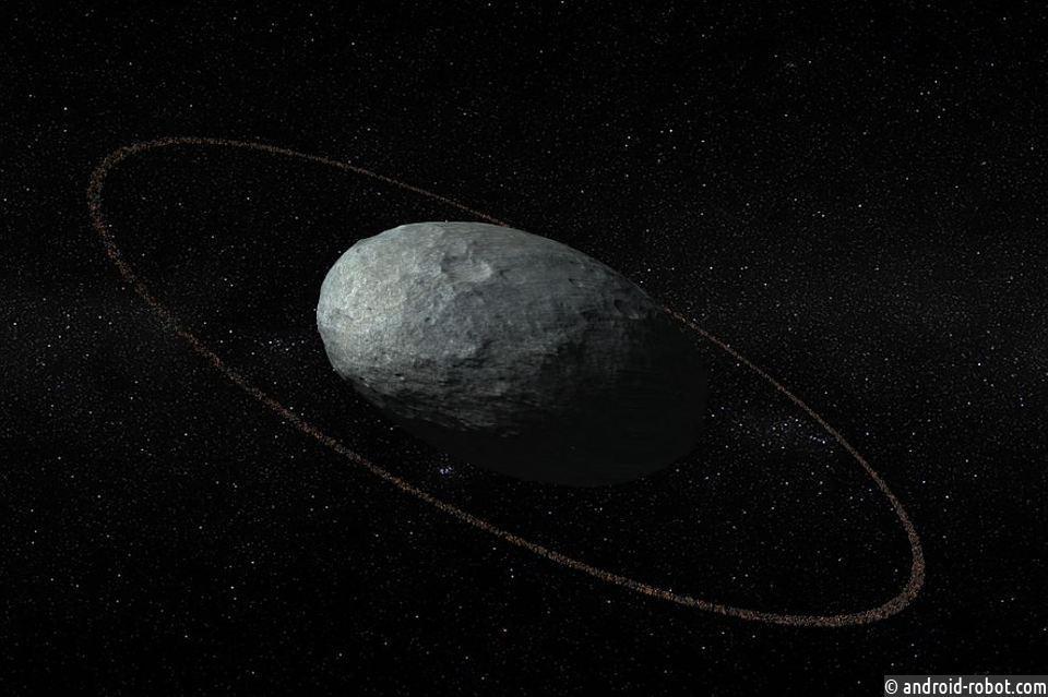 У миниатюрной планеты изСолнечной системы отыскали кольца