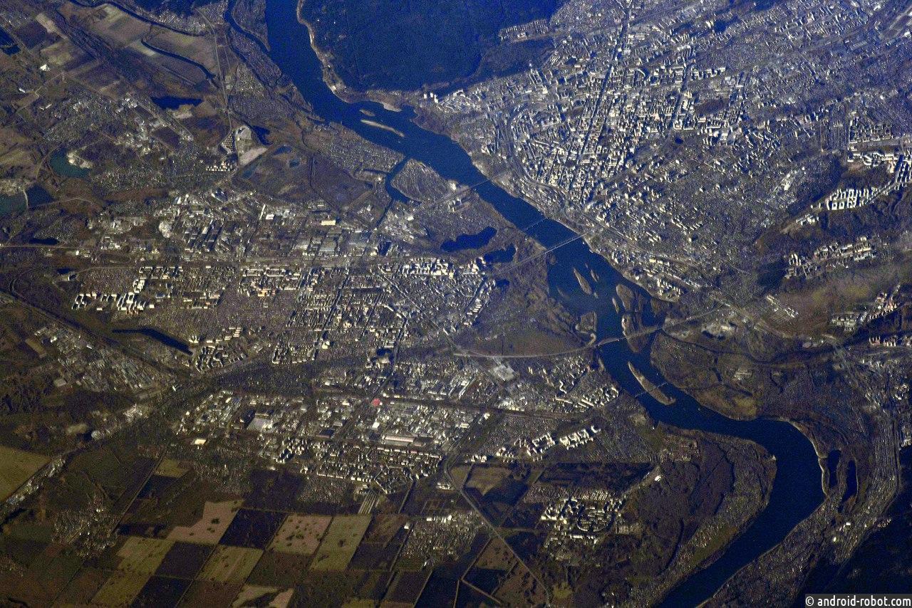 Завораживающий снимок Новосибирска изкосмоса огорчил городских жителей