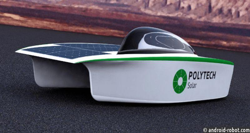 Студенты изСанкт-Петербурга создали автомобиль насолнечных батареях