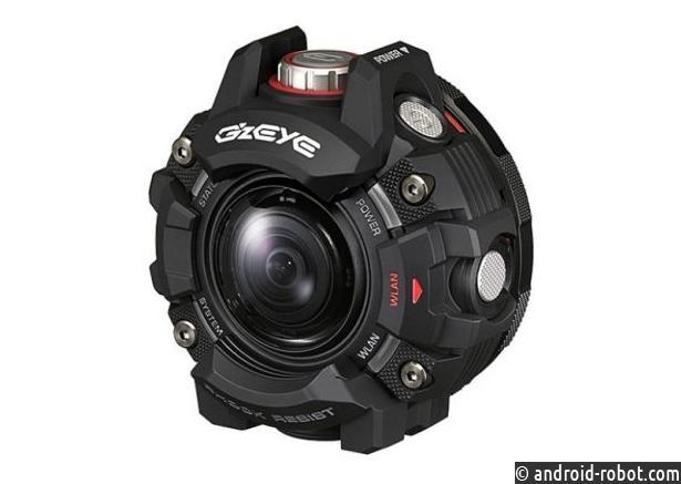 Представлена Casio Eye GZE-1: экшен-камера встиле часов G-Shock